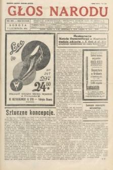 Głos Narodu. 1931, nr301