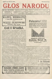 Głos Narodu. 1931, nr302