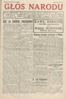 Głos Narodu. 1931, nr305
