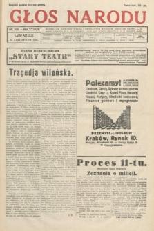 Głos Narodu. 1931, nr306