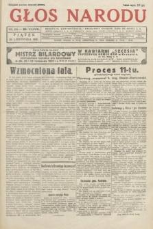 Głos Narodu. 1931, nr314
