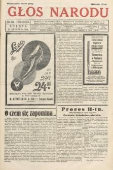 Głos Narodu. 1931, nr315