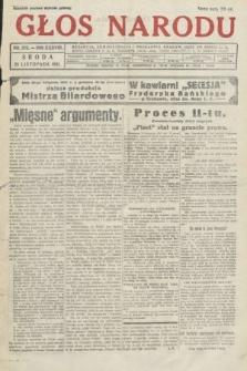 Głos Narodu. 1931, nr319