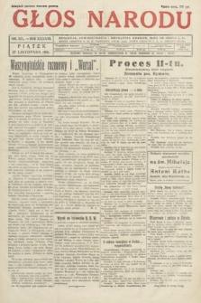 Głos Narodu. 1931, nr321