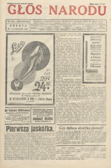 Głos Narodu. 1931, nr322
