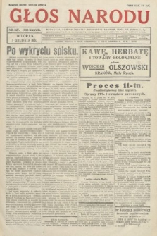 Głos Narodu. 1931, nr325