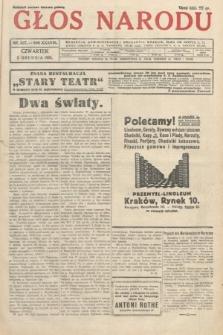 Głos Narodu. 1931, nr327