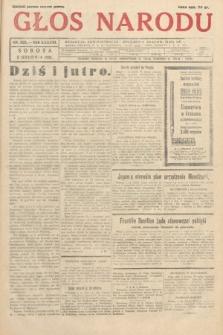 Głos Narodu. 1931, nr329