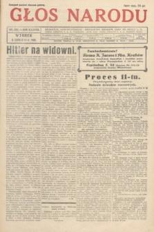 Głos Narodu. 1931, nr332