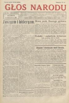 Głos Narodu. 1931, nr338