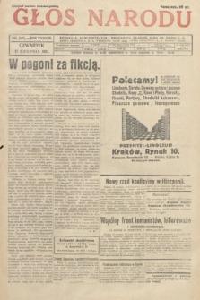 Głos Narodu. 1931, nr340