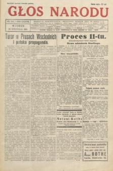 Głos Narodu. 1931, nr345