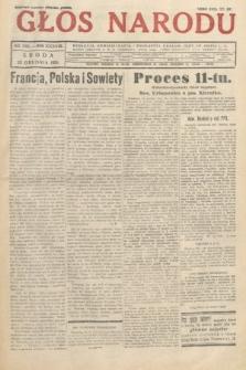 Głos Narodu. 1931, nr346