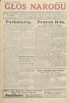 Głos Narodu. 1931, nr349