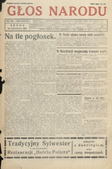 Głos Narodu. 1931, nr350