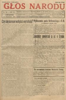 Głos Narodu. 1934, nr251