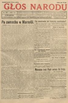 Głos Narodu. 1934, nr279