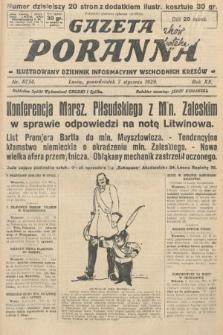 Gazeta Poranna : ilustrowany dziennik informacyjny wschodnich kresów. 1929, nr8734