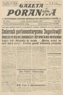 Gazeta Poranna : ilustrowany dziennik informacyjny wschodnich kresów. 1929, nr8735