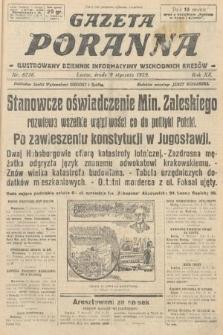 Gazeta Poranna : ilustrowany dziennik informacyjny wschodnich kresów. 1929, nr8736
