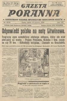 Gazeta Poranna : ilustrowany dziennik informacyjny wschodnich kresów. 1929, nr8739