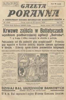 Gazeta Poranna : ilustrowany dziennik informacyjny wschodnich kresów. 1929, nr8740