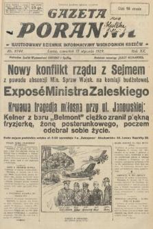 Gazeta Poranna : ilustrowany dziennik informacyjny wschodnich kresów. 1929, nr8744