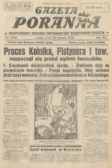 Gazeta Poranna : ilustrowany dziennik informacyjny wschodnich kresów. 1929, nr8750