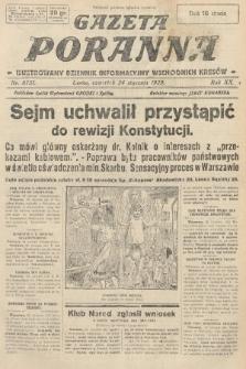 Gazeta Poranna : ilustrowany dziennik informacyjny wschodnich kresów. 1929, nr8751