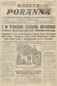 Gazeta Poranna : ilustrowany dziennik informacyjny wschodnich kresów. 1929, nr8753
