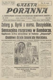 Gazeta Poranna : ilustrowany dziennik informacyjny wschodnich kresów. 1929, nr8754