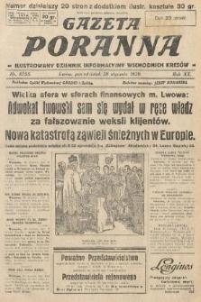 Gazeta Poranna : ilustrowany dziennik informacyjny wschodnich kresów. 1929, nr8755