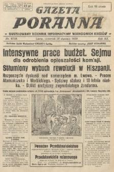 Gazeta Poranna : ilustrowany dziennik informacyjny wschodnich kresów. 1929, nr8758