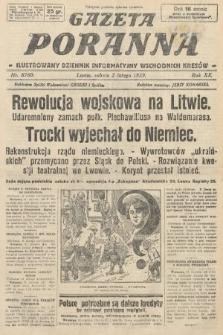 Gazeta Poranna : ilustrowany dziennik informacyjny wschodnich kresów. 1929, nr8760