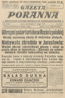 Gazeta Poranna : ilustrowany dziennik informacyjny wschodnich kresów. 1929, nr8762