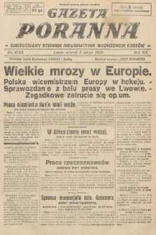 Gazeta Poranna : ilustrowany dziennik informacyjny wschodnich kresów. 1929, nr8763
