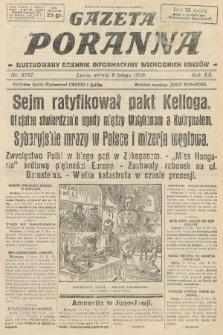 Gazeta Poranna : ilustrowany dziennik informacyjny wschodnich kresów. 1929, nr8767