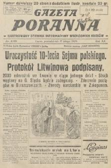 Gazeta Poranna : ilustrowany dziennik informacyjny wschodnich kresów. 1929, nr8769