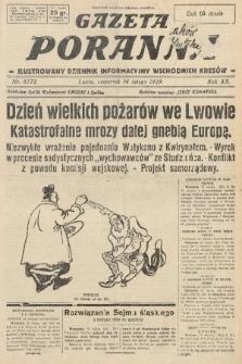 Gazeta Poranna : ilustrowany dziennik informacyjny wschodnich kresów. 1929, nr8772
