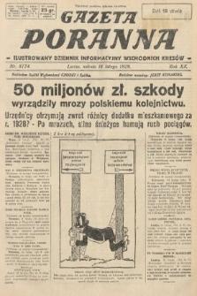 Gazeta Poranna : ilustrowany dziennik informacyjny wschodnich kresów. 1929, nr8774