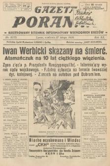 Gazeta Poranna : ilustrowany dziennik informacyjny wschodnich kresów. 1929, nr8775