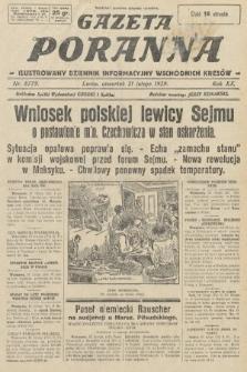 Gazeta Poranna : ilustrowany dziennik informacyjny wschodnich kresów. 1929, nr8779