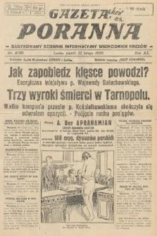 Gazeta Poranna : ilustrowany dziennik informacyjny wschodnich kresów. 1929, nr8780