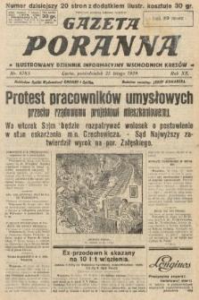 Gazeta Poranna : ilustrowany dziennik informacyjny wschodnich kresów. 1929, nr8783