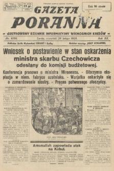 Gazeta Poranna : ilustrowany dziennik informacyjny wschodnich kresów. 1929, nr8786