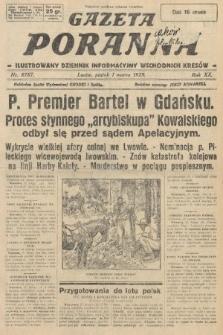 Gazeta Poranna : ilustrowany dziennik informacyjny wschodnich kresów. 1929, nr8787