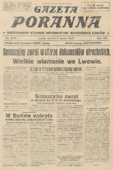 Gazeta Poranna : ilustrowany dziennik informacyjny wschodnich kresów. 1929, nr8791