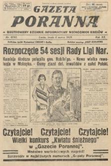 Gazeta Poranna : ilustrowany dziennik informacyjny wschodnich kresów. 1929, nr8792