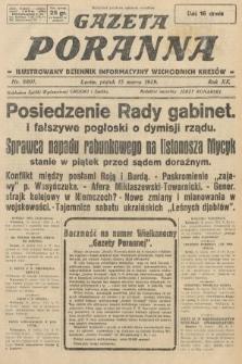 Gazeta Poranna : ilustrowany dziennik informacyjny wschodnich kresów. 1929, nr8801