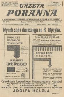 Gazeta Poranna : ilustrowany dziennik informacyjny wschodnich kresów. 1929, nr8803